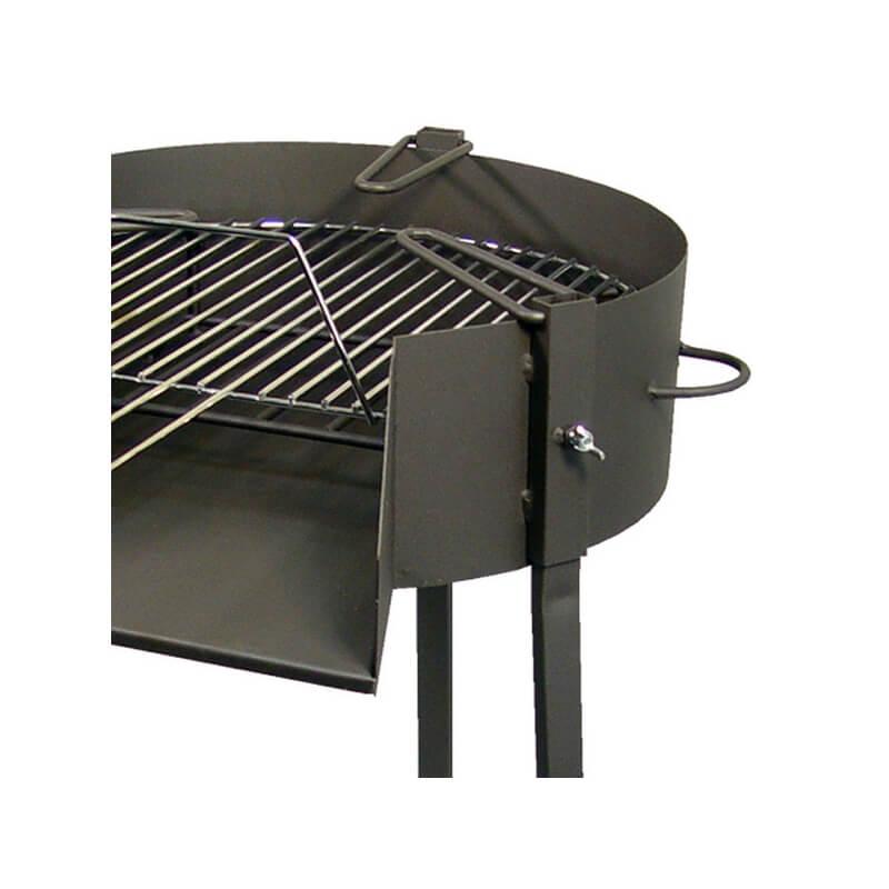Barbacoa de carb n le a y soporte paellero de barbecook - Barbacoas de carbon ...