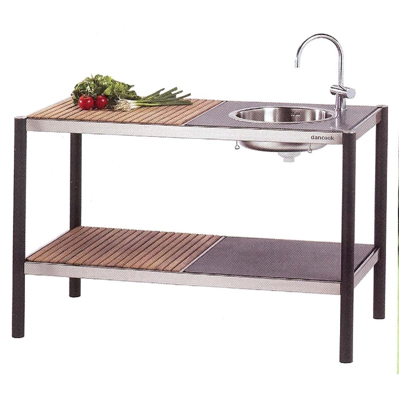 Encimera granito para fregadero kitchen dancook for Mueble para fregadero