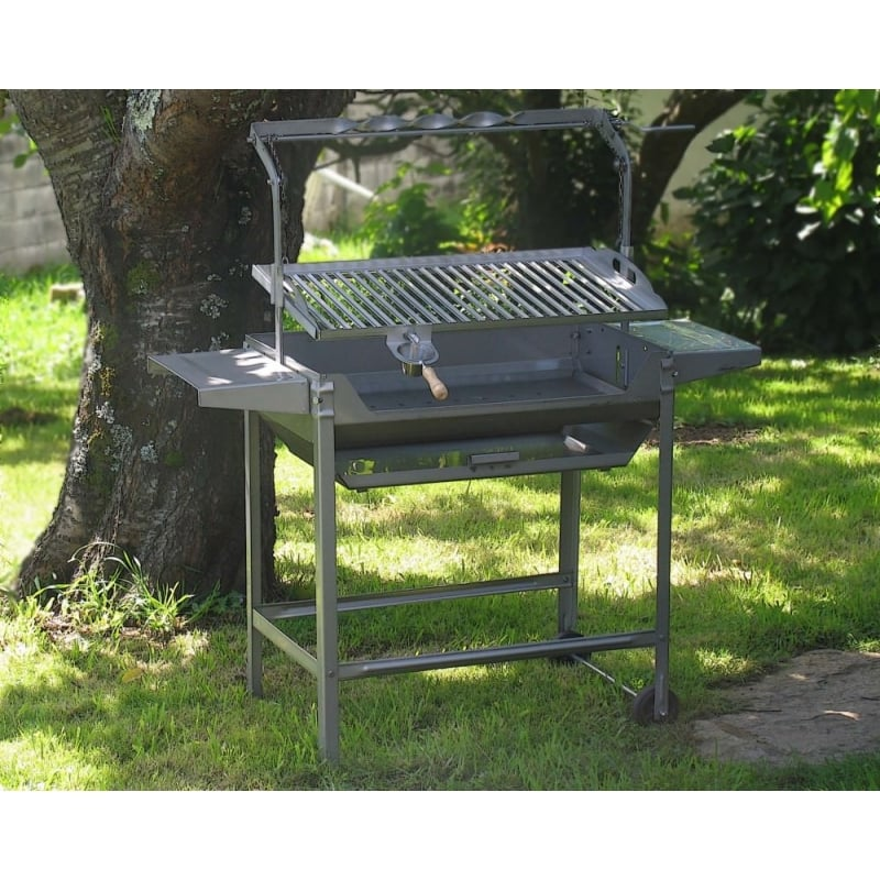 Barbacoa estandar inox 980 jr baluja - Barbacoa carbon y lena ...