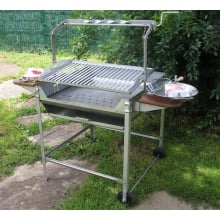 Barbacoa Deluxe Plus Inox JR Baluja