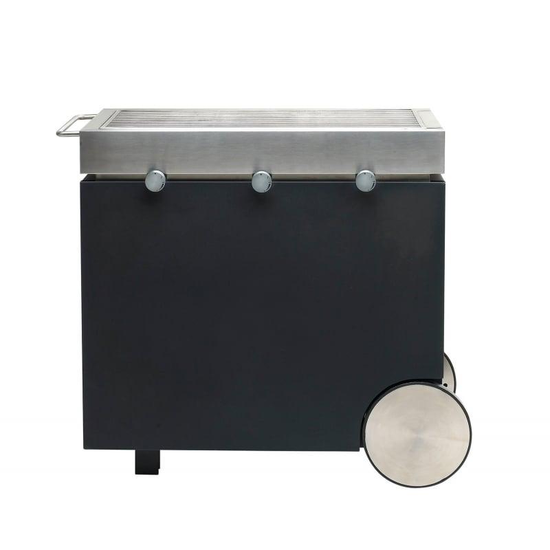 Barbacoa de carb n heat 3 negra design house - Barbacoa de gas ...