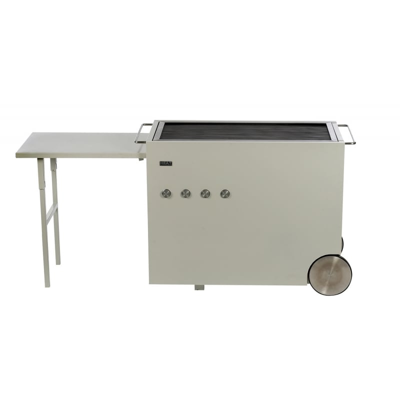 Barbacoa de gas heat 4 inox design house - Barbacoa de gas ...