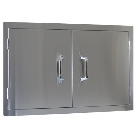 Set Doble Puerta Inox Encastrable Beefeater