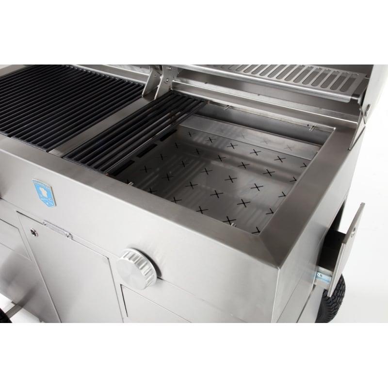 Barbacoa de carb n gt 1200 brennwagen - Barbacoa portatil carbon ...