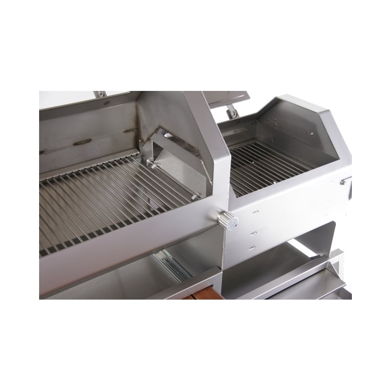 Barbacoa de carb n gtx 1500 brennwagen - Carbon para barbacoa ...