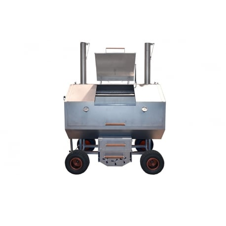 Barbacoa de carbón GTX 63 Brennwagen