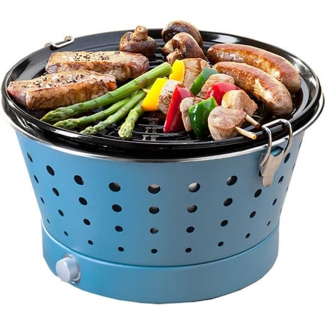 Barbacoa de carbón Grillerette Azul