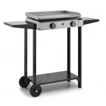 Plancha Base Gas 60 Inox con carro
