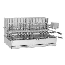 Grill encastrable con asador eléctrico 960