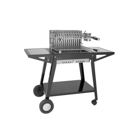 Carro de acero para cajón grill 56