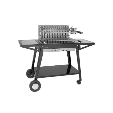 Carro de acero para cajón grill 66