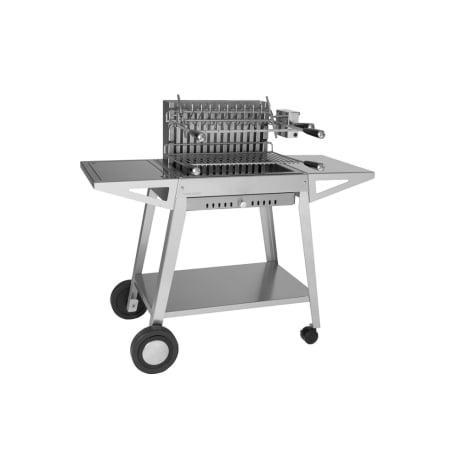 Carro de acero inoxidable para cajón grill 56