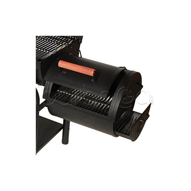 Barbacoa ahumador de carb n y le a portatil - Barbacoa carbon y lena ...