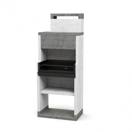 Barbacoa de obra Venit Flex Plus Hotte Footer-1