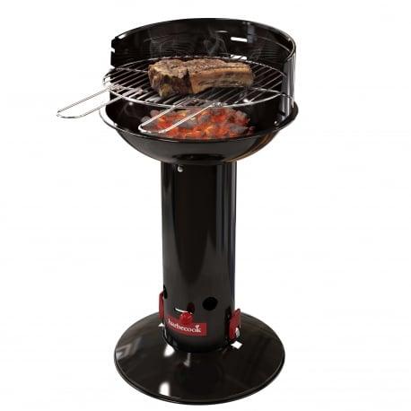 Barbacoa de carbón Loewy 40 de Barbecook en funcionamiento
