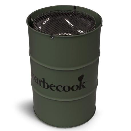 Barbacoa de carbón Edson Army Green de Barbecook
