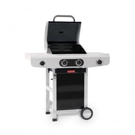 Barbacoa de gas Siesta 210 Black Edition de Barbecook