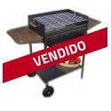 Barbacoa de carbón y leña Formentera LIQUIDACIÓN