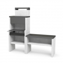 Barbacoa de obra Venit Flex Plus Hotte Pack 2