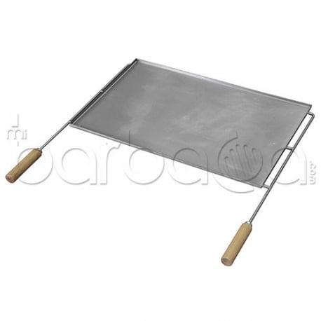 Plancha inox 46 para barbacoas de obra tuozi - Accesorios barbacoas de obra ...