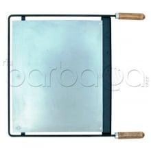 Plancha Inox 71603 para barbacoas El Zorro