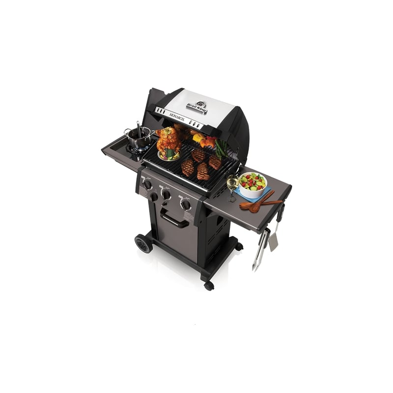 Barbacoa de gas monarch 340 de broil king - Barbacoa de gas ...