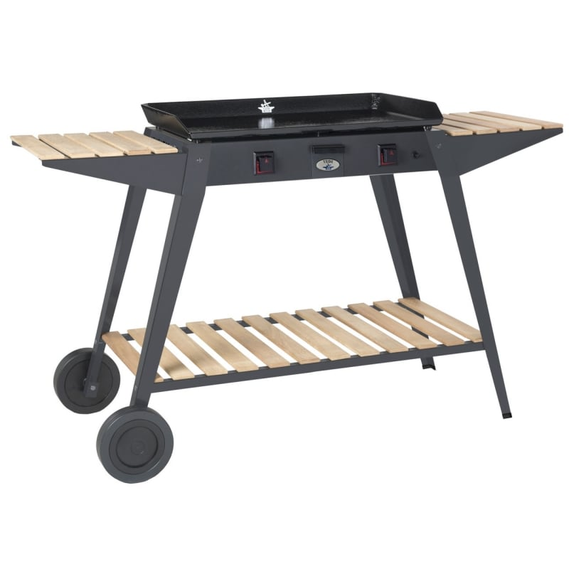 plancha de gas teide acero carro chba b forge adour. Black Bedroom Furniture Sets. Home Design Ideas