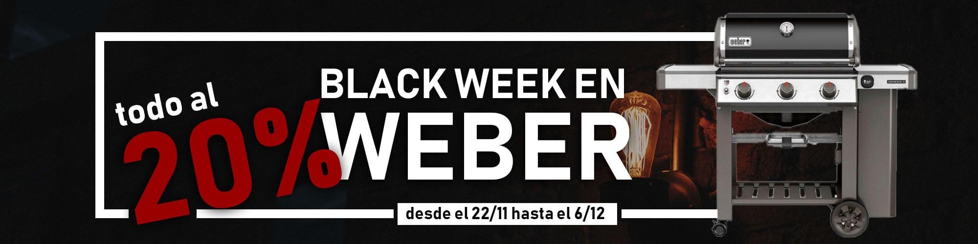Black Friday Barbacoas Weber
