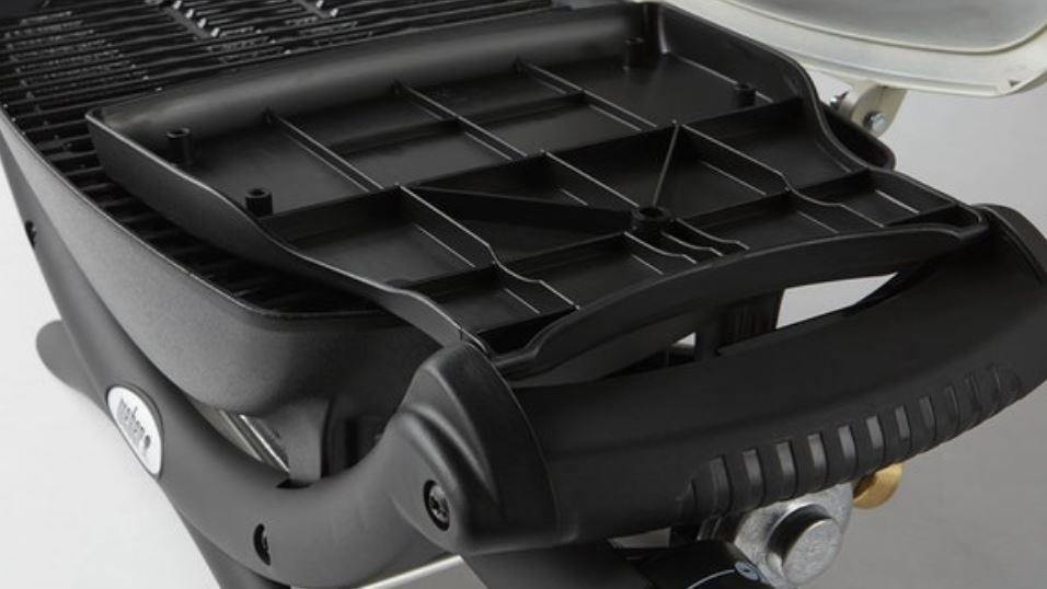 Bandejas laterales plegables, BBQ Gas Q 2000 Weber