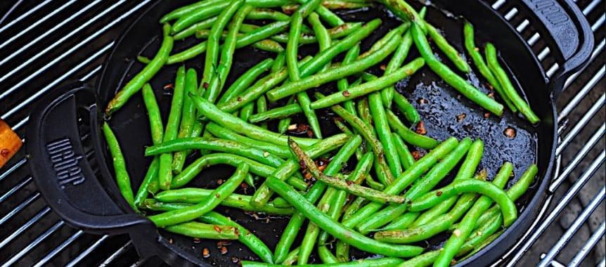 Verduras a la plancha redonda GBS de Weber